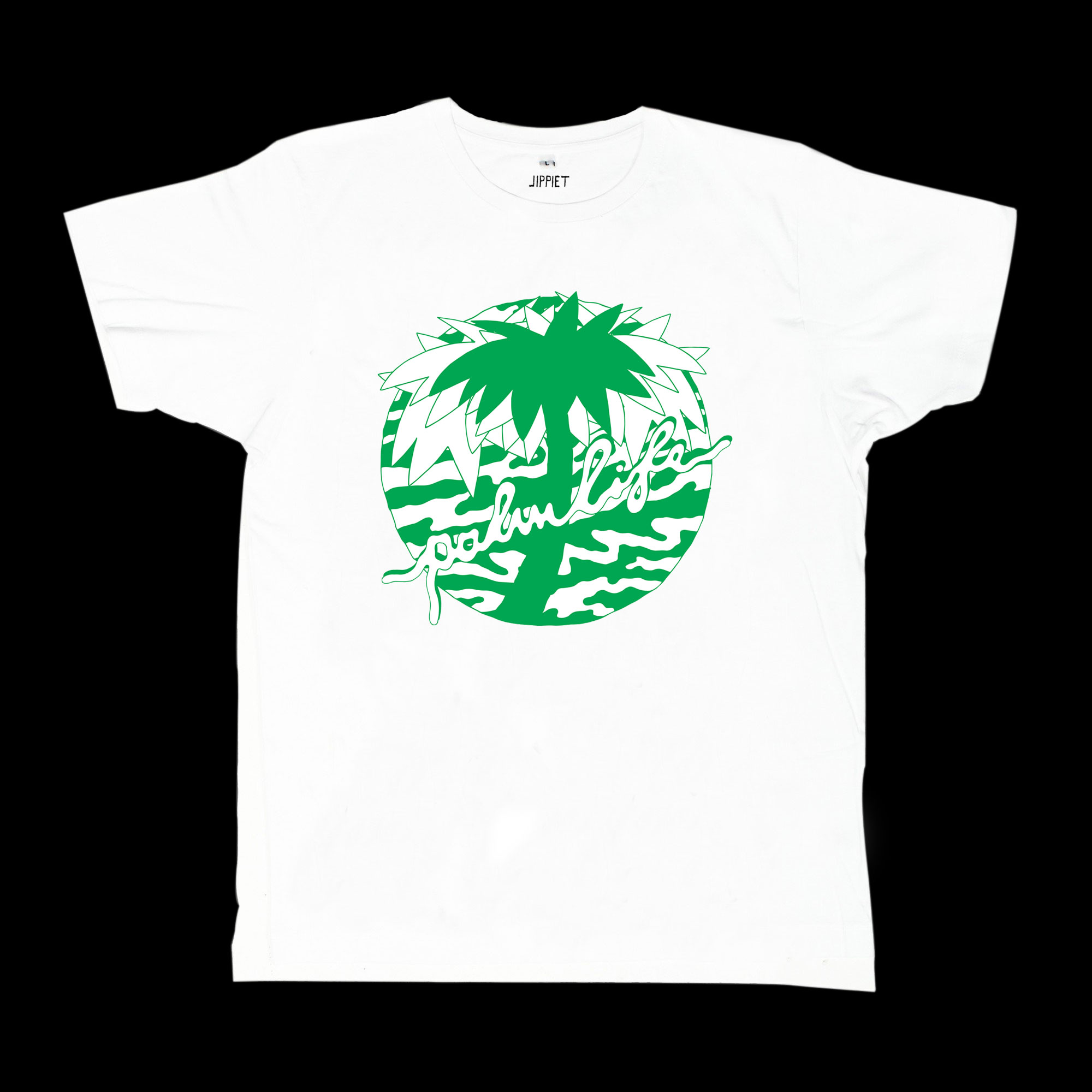 Palmlife (2016), Logo design, Silkscreen print on shirt.
