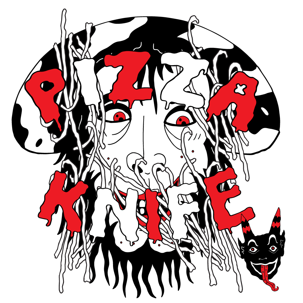Pizzaknife (2016), Logo design.